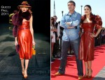 "Salma Hayek In Gucci - 2011 Cannes Film Festival ""Puss in Boots"" Photocall"