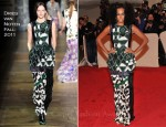 Solange Knowles In Dries Van Noten - 2011 Met Gala