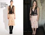 Sophia Bush In Narciso Rodriguez - Corey Lynn Calter and Krysten Ritter Luncheon