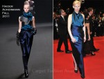 "Tilda Swinton In Haider Ackermann - 2011 Cannes Film Festival ""We Need To Talk About Kevin"" Premiere"