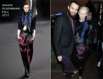 Tilda Swinton In Haider Ackermann - Terry Gilliam Honorary Dinner