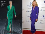 Uma Thurman In Roland Mouret - Cinema for Peace Charity Dinner