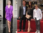 Victoria Beckham In Victoria Beckham - Simon Fuller Hollywood Walk Of Fame Induction Ceremony