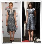 Who Wore Peter Pilotto Better? Carey Mulligan or Samantha Cameron