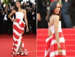 "Zoe Saldana In Armani Privé - 2011 Cannes Film Festival ""The Tree Of Life"" Premiere"