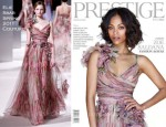 Zoe Saldana For Prestige Magazine