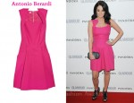 In Tulisa Contostavlos' Closet - Antonio Berardi Box-Pleat Dress
