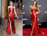 "Rosie Huntington-Whiteley In Antonio Berardi - ""Transformers: Dark of the Moon"" New York Premiere"