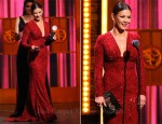 Catherine Zeta Jones In Elie Saab - 2011 Tony Awards