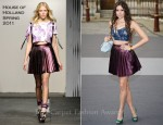 Eliza Doolittle In House Of Holland - The Royal Academy of Arts' Summer Exhibition Preview Party