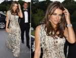 Elizabeth Hurley In Roberto Cavalli - 13th Annual White Tie and Tiara Ball to Benefit Elton John AIDS Foundation