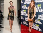 Emma Stone In Bottega Veneta - 2011 MTV Movie Awards