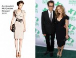 Kyra Sedgwick In Alexander McQueen - Global Green USA's 15th Annual Millennium Awards