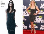 Reese Witherspoon In Zac Posen - 2011 MTV Movie Awards