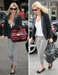 Kate Moss Swaps Bags Between Stores