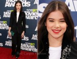 Hailee Steinfeld In Louis Vuitton - 2011 MTV Movie Awards