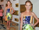 Jayma Mays In Elise Overland - 2011 Critics' Choice Television Awards