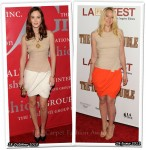 Who Wore Giambattista Valli Better? Leighton Meester or Ludivine Sagnier