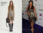 Naomie Harris In Mulberry - WTA Tour Pre-Wimbledon Party