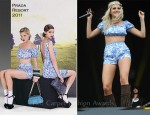 Pixie Lott In Prada - 2011 Isle Of Wight Festival