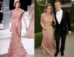 Princess Beatrice In Elie Saab Couture - 13th Annual White Tie and Tiara Ball to Benefit Elton John AIDS Foundation