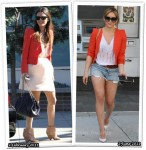 Who Wore Vanessa Bruno Better? Rachel Bilson or Hilary Duff