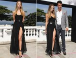 "Rosie Huntington-Whiteley In Michael Kors - ""Transformers: Dark Of The Moon"" Rio Press Conference"