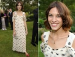 Alexa Chung in Vintage - 13th Annual White Tie and Tiara Ball to Benefit Elton John AIDS Foundation