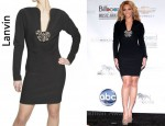 In Beyonce Knowles Closet - Lanvin Swarovski Embellished Dress
