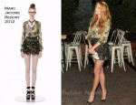 Blake Lively In Marc by Marc Jacobs - 2011 Ghetto Film School Spring Benefit