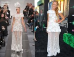 "Blake Lively In Chanel Couture - ""Green Lantern"" LA Premiere"