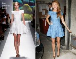 Blake Lively In Tibi - The Today Show