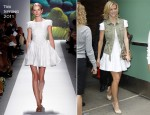 Brooklyn Decker In Tibi - Good Morning America