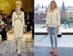 "Cameron Diaz In Chanel - ""Bad Teacher"" Moscow Photocall"