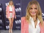 "Cameron Diaz In Elizabeth & James & Equipment - ""Bad Teacher"" Madrid Photocall"