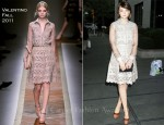 Carey Mulligan In Valentino - Junior Spring Benefit for Lincoln Center Event