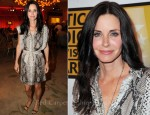 Courteney Cox In Lanvin - 2011 Critics' Choice Television Awards