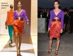"Charlotte Casiraghi In Gucci - ""Il Mondo Vi Appartiene"" Dinner"