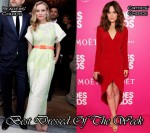 Best Dressed Of The Week - Diane Kruger In Alessandra Rich & Rose Byrne In Christian Cota