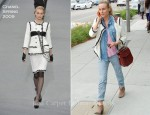 Sidewalk Style: Diane Kruger In Chanel