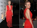 Diane Kruger In YSL - amfAR Inspiration Gala Paris