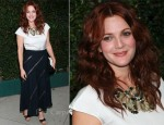 Drew Barrymore In Chanel - Chanel's Benefit Dinner For The Natural Resources Benefit