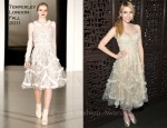 "Emma Roberts In Temperley London - ""The Art Of Getting By"" New York Screening After Party"