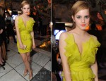 Emma Watson In Notte by Marchesa - 2011 MTV Movie Awards After-Party
