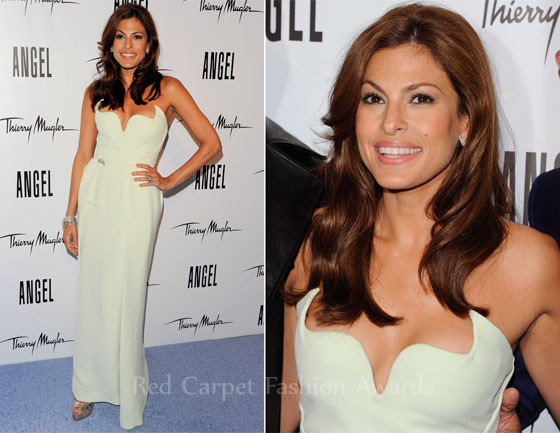Eva Mendes In Thierry Mugler