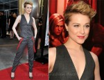 "Evan Rachel Wood In Dolce & Gabbana - ""True Blood"" Season 4 Premiere"