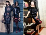Fan Bing Bing In Louis Vuitton -  Louis Vuitton Kunming Store Opening