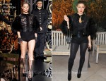 Fergie In Louis Vuitton - amfAR Inspiration Gala Paris