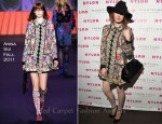 Florence Welch In Anna Sui - 2011 Nylon Music Issue Launch Party