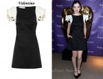 In Hailee Steinfeld's Closet - Valentino Rosette-Embellished Dress